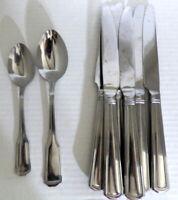 8 pcs Wallace WHITNEY Stainless Steel Flatware China