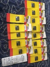 Lot Of 14 AP PRODUCTS 3M Mini Connector 8 Pin Gold Flat Ribbon Or Standard Wire