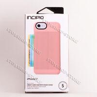 Incipio Walllet Folio Leather Case For iPhone SE 2020 iPhone 7 iPhone 8 - Pink