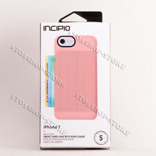 Incipio Walllet Folio Leather Case For iPhone 7 iPhone 8 - Blush Pink New