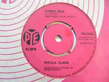 """PETULA CLARK Jumble Sale Ex Pye 1962 UK 1960s Pop 7"""""""
