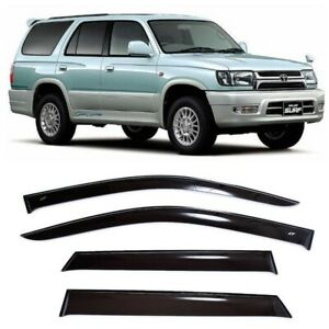 For Toyota Hilux Surf 5d 1995-2002 Window Visors Sun Rain Guard Vent Deflectors