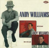 ANDY WILLIAMS - ANDY WILLIAMS / ...SINGS STEVE ALLEN - NEW CD!!