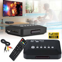1080P HD HDMI Audio Video Media Player TV Box USB MMC/MS HDMI 1.3 AV PAL/NTSC