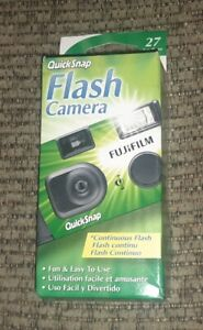 Fuji Film Quicksnap flash 400 disposable camera exp 1/2020 sealed brand new