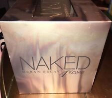 NIB Urban Decay Naked 4Some Vault 1 2 3 Heat Eyeshadow Palette Holiday 2017 Gift