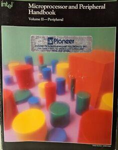 Rare Intel Microprocessor and Peripherals Handbook Volume 2  [Paperback] 1987