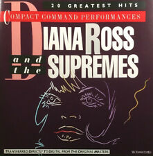 Diana Ross & The Supremes - Compact Command Performances (CD 1983)