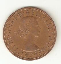 1967 ELISABETTA II ONE PENNY COIN