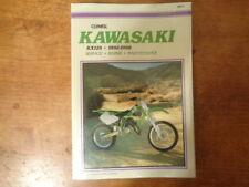 Clymer Kawasaki KX125 1992-1998 Service-Repair-Maintenance  Manual M472