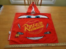Lightning McQueen (Cars) - Disney Hooded Beach/Bath Towel Poncho