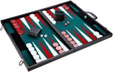 Philos 1715 - Backgammon grün Turnier Kunstleder