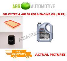 PETROL OIL AIR FILTER KIT + SS 10W40 OIL FOR SUZUKI IGNIS 1.3 94 BHP 2003-11