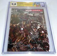 Marvel Legacy #1 CGC SS Signature Autograph STAN LEE 9.8 Return of Wolverine 🔥