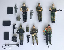 Lot Of GI Joe Action Figures With Many Accessories/Weapons
