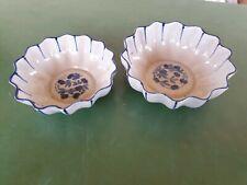 2 Bunzlau keramik Reinhold Schalen