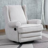 Swivel Rocker Recliner Chair Manual Reclining Chair Modern Living Room Sofa .
