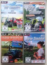Der Landwirt 2014 Platin + Agrar Simulator 2012 + 11 + Historische Landmaschinen