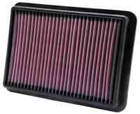 33-2980 K&N Replacement Air Filter fits Nissan NAVARA 2.5L V6 DSL; 05-11