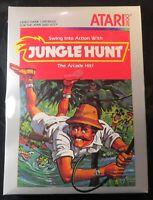 Original 1983 Jungle Hunt Atari 2600 Video Game Factory Sealed