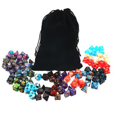105Pcs Polyhedral Dice Sets Role Playing for Dungeons & Dragons DND MTG Gaming