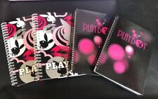 PLAYBOY 4 X NOTEBOOKS WRITING PADS STATIONARY GIFTWARE BARGAIN