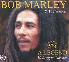 Bob Marley & The Wailers : A Legend - 50 Reggae Classics (3 CD)