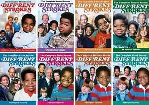 Diff'rent Different Strokes TV Series Complete Season 1-8 NEW DVD BUNDLE SET