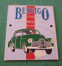 GRILLE / CAR BADGE - 50TH ANNIVERSARY OF HOLDEN - BENDIGO NATIONAL SWAP MEET