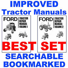 Ford 7610 Tractor Service Repair Shop Manual & Parts & Operators -5- Manuals CD