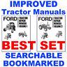Ford 6610 Tractor Service Repair Shop -5- Volumes Manual & Operators Manuals CD