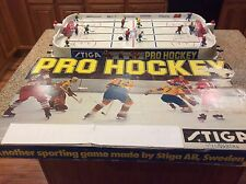 1978 Stiga Pro Hockey-Table Hockey Game Sweden Vs. Soviet Union Coleco, Eagle