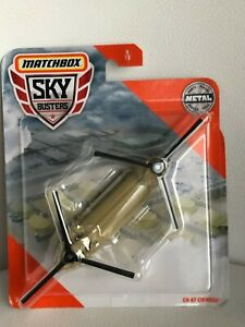 Matchbox Sky Busters - CH-47 Chinook 6/13 helicopter