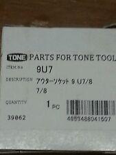 Tone item # 9U7 Tone shear / impact wrenches 9U7/8
