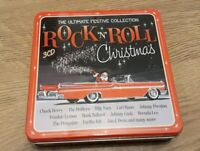 Rock 'N' Roll Christmas 3 CD Set 60 Tracks Inc Drifters, Johnny Cash, Big Bud.