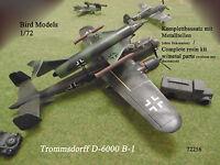 Trommsdorff D-6000 B-1       1/72 Bird Models Resinbausatz / resin kit