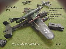 Trommsdorff d-6000 b-1 1/72 Bird models resinbausatz/RESIN KIT