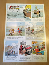 Harold, Hal Foster PRINCE VALIANT Proof Page 1965 Full Size syndicate proof rare