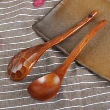 1Pcs Wooden Spoon Bamboo Kitchen Cooking Utensil Tool Soup Teaspoon Catering