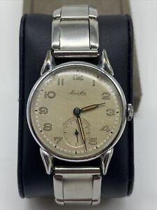 Schöne Armbanduhr Mauthe 15 Rubis Antimagnetic