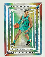 2019-20 Panini PLAYER OF THE DAY 62 PJ WASHINGTON JR RC Rookie Charlotte Hornets