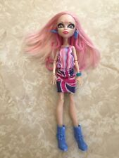"""Monster High 11"""" Doll VIPERINE GORGON SNAKES PINK HAIR GHOULEBRITIES LONDON"""