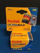 Kodak UltraMax Film 1 Roll 24 Exposures 400 Speed 35mm 04/2018