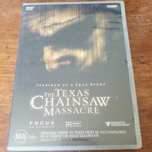 The Texas Chainsaw Massacre DVD R4 Like New! FREE POST
