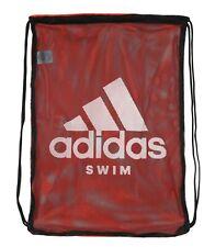 Adidas SWIM Mesh GYM SACK Shoes Bag Red Black White CV4013 Training Sports Bags
