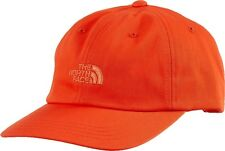 The North Face Womens The Norm Hat Baseball Cap Fire Brick Red Orange NF0A355WH