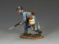 King & Country FW148 French Poilu Charging with Bayonet Single Figure