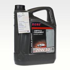 5 (1x5) Liter ROWE VINTAGE SAE 20W-50 Oldtimer Öl unlegiert/ API SA