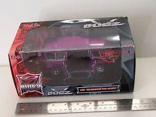 * Miasto G Ridez Bugz 1:25 purple Vw Volkswagen samba van Rare !