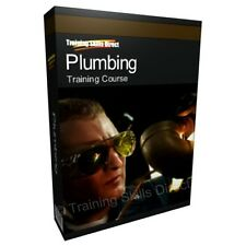 Plumbing Plumber Tools Manual Training Course Book CD